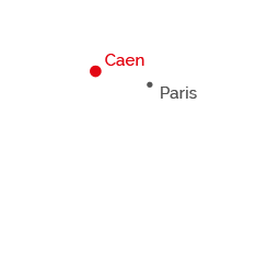 carte-france-caen-paris