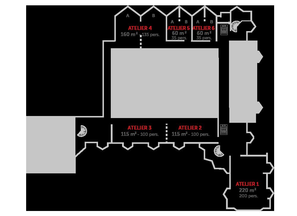 plan-centre-de-congres-caen-etage