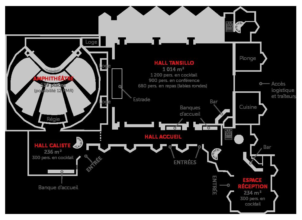 plan-centre-de-congres-caen-rdc